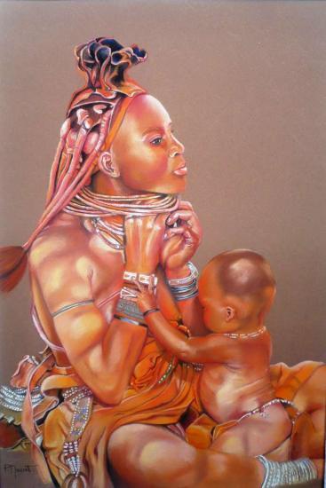 Himba ombre et lumière