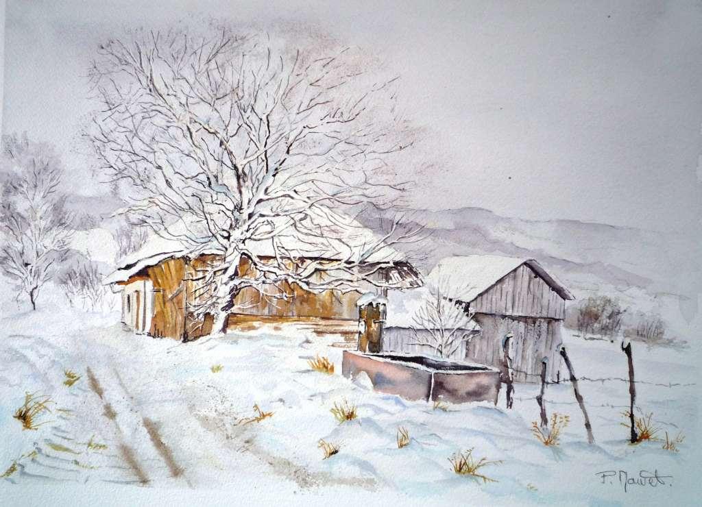 Les bauges sous la neige-1024